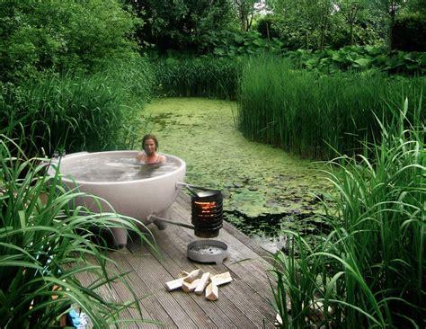 wood burning bathtub bowl shaped hot tubs wood burning hot tub