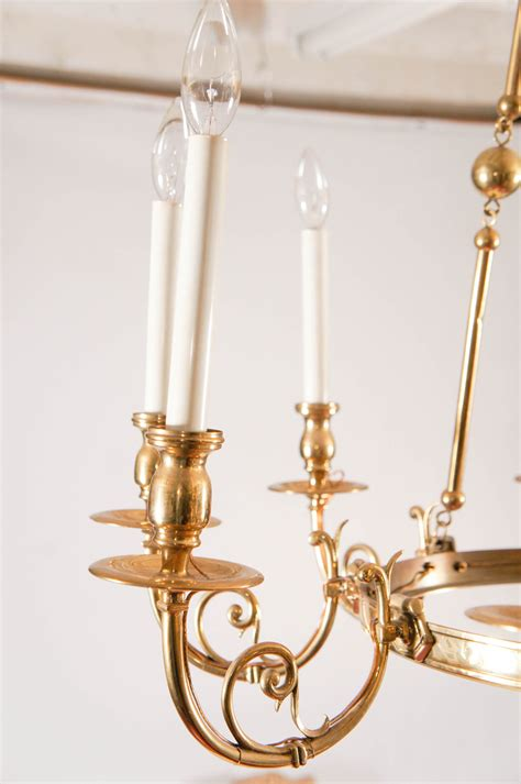 Solid Brass Chandelier 9 Arm Neoclassical Style Solid Brass Chandelier Omero Home