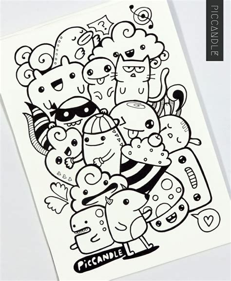 doodle images draw best 20 easy doodle ideas on random