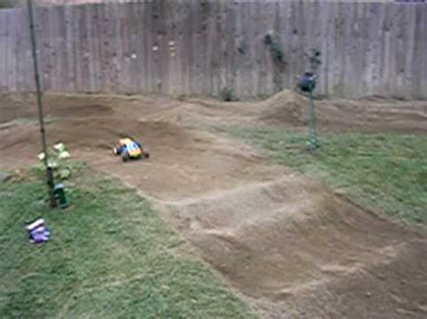 backyard rc track