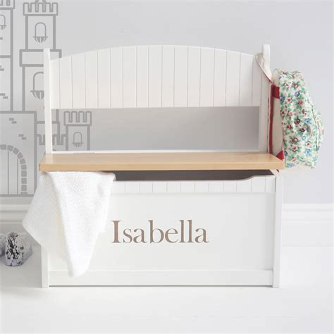 personalized toy box bench personalised toy box bench interesting personalized toy