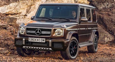 Nex Mercedes G63 new mercedes amg g63 will probably look a lot like this