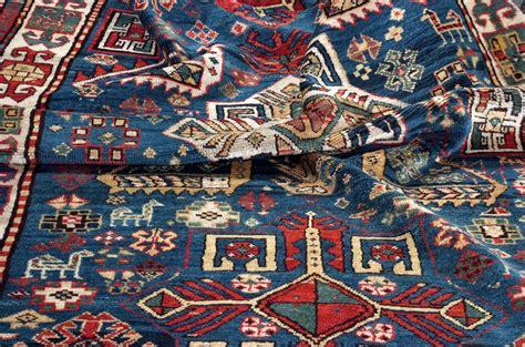 tappeto kazak kazak akstafa caucasico antico cm 333x125 tea tappeti