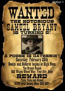 wanted invitation template items similar to wanted poster style birthday invitation