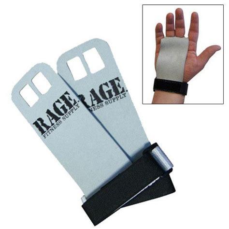Rage Wrist Rage Fitness Leather Grips