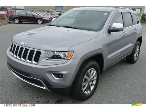 silver jeep grand 2014 jeep grand cherokee limited in billet silver metallic