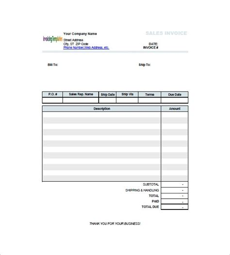 shop receipt template shop invoice template tomahawk talk invoice exle