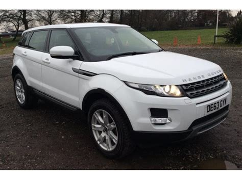 land rover range rover evoque 4 door used 2013 land rover range rover evoque hatchback 5 door 2