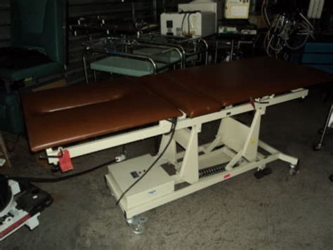 Chiropractic Tables For Sale by Used Tri W G Hi Lo Chiropractic Table For Sale Dotmed