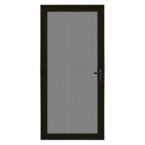 Black Screen Door by Screened Door Screened Porch Door Flimsy Vinyl Door