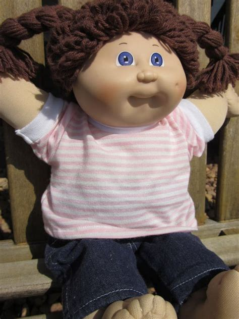how to make cabbage doll hair styles reserved vintage cabbage patch kid doll brown hair