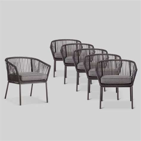 standish pk patio dining chair black project  target