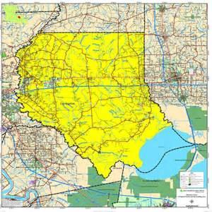 livingston parish map
