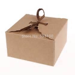 Paper Gift Boxes - retro mini kraft paper box diy wedding gift favor boxes