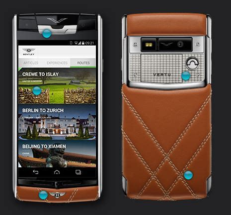 vertu bentley 163 10 700 vertu for bentley targets fans of luxury