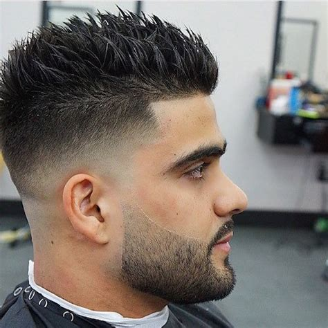 pictures of short hair cuts that spike upwards at the back spiky hairstyles for men 2018