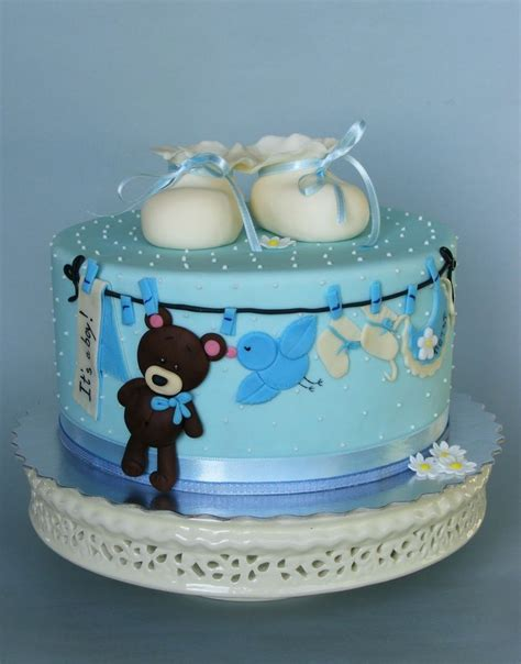 Baby Shower Cake Ideas For A Boy by Boy Baby Cake Idea Baby Cake Imagesbaby Cake Images