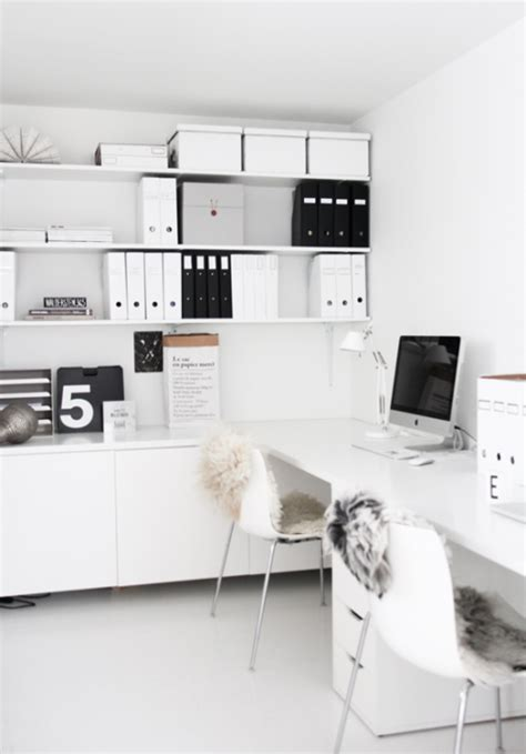 small black and white home office inspirations kantoorinrichting met ikea huis inrichten com