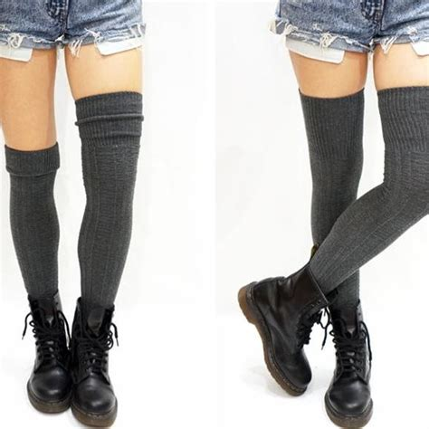 thigh high knit socks cozy cable knit thigh high socks boot socks on luulla