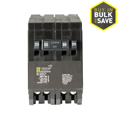 shop square d homeline 30 circuit breaker at