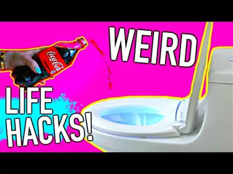 diy hacks youtube weird life hacks every girl should know youtube