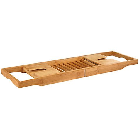 buy lewis rubberised bamboo bath bridge rack