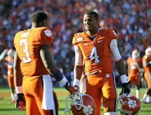 talks awards tigers and gamecocks clemson football news tigernet clemson football deshaun watson in opening heisman odds
