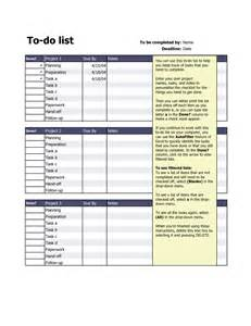 things to do list template excel best photos of excel do list template to do task list