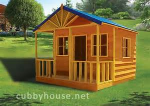 Backyard Play Fort Bear Creek Cubby House Australian Made Wooden Playground
