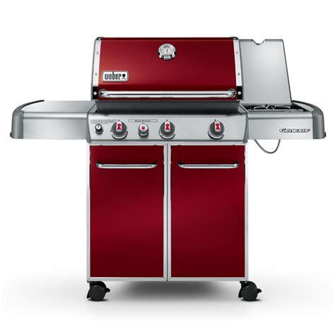 Enamel Top Cabinet by Weber Genesis E330 Barbecue Crimson 163 1099 Garden4less