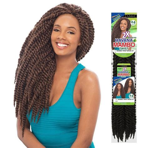 janet collection synthetic hair braids havana 2x mambo janet collection pre loop crochet braid 2x havana mambo