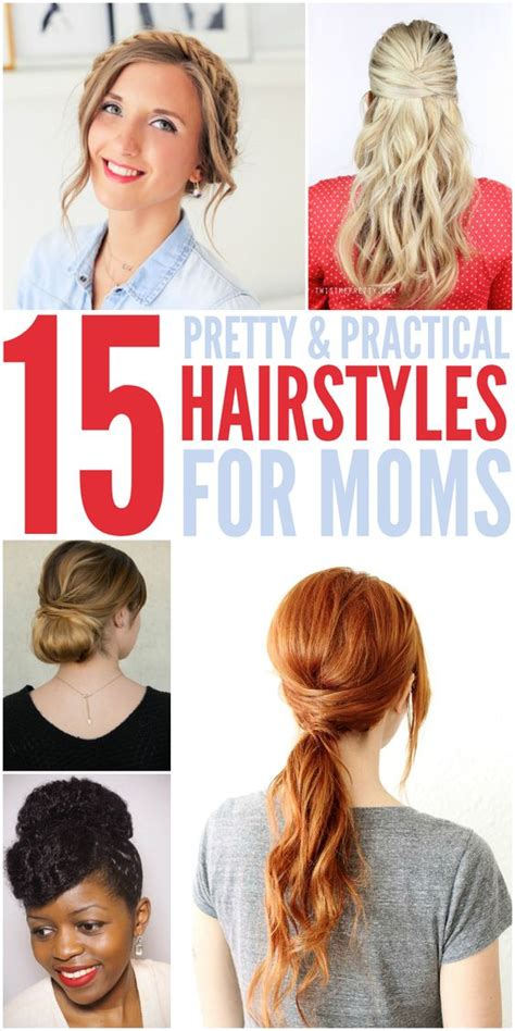 practical and easy care hairstyles for in their forties 15 quick easy hairstyles for moms who don t have enough