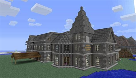 minecraft house templates mount falcon manor house minecraft building inc