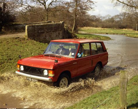 1970 range rover for sale range rover s 45th anniversary just