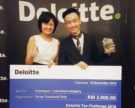 Deloitte Mba Competition 2016 by Swinburne Sarawak Student To Represent Nation In Deloitte