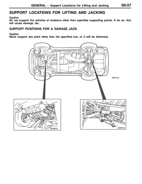 2001 Mitsubishi Montero Parts Manual