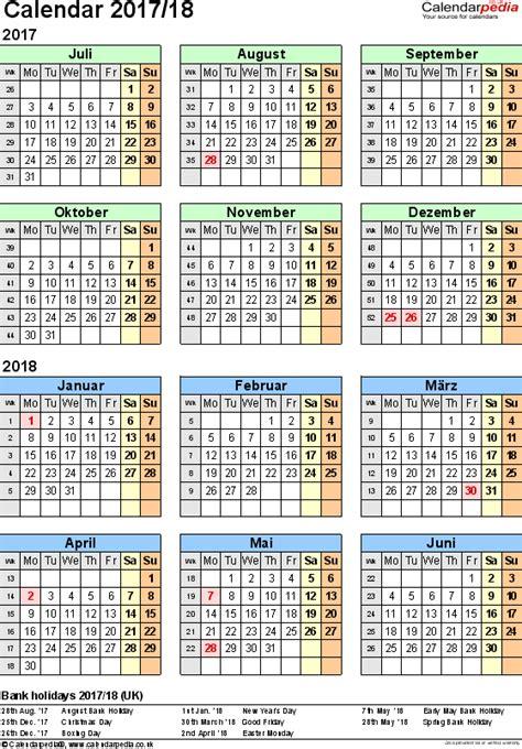 split year calendars  july  june   uk