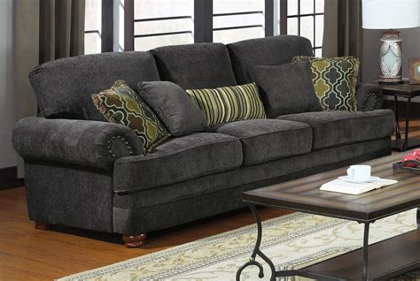 traditional fabric sofas 3 pc coaster colton traditional chenille fabric sofa set