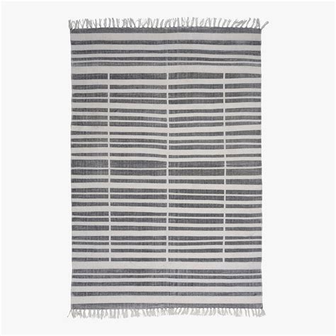Striped Throw Rugs by Broken Stripe Cotton Throw Rug Shop Area Rugs Dear Keaton