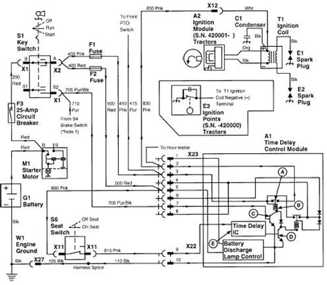 deere 318 b43g wiring diagram wiring diagram and