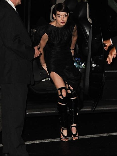 anne hathaway devastated after revealing wardrobe anne hathaway on wardrobe malfunction next time i ll wear