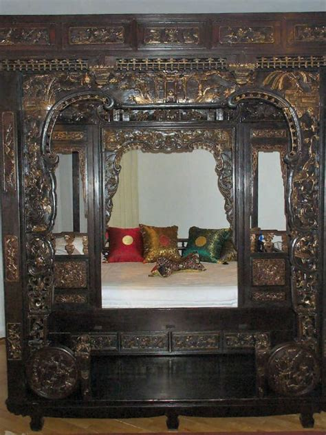 chinese wedding bed 1071 antique chinese wedding bed with front porch ove lot 1071