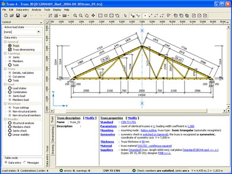 free timber truss design software quick woodworking projects