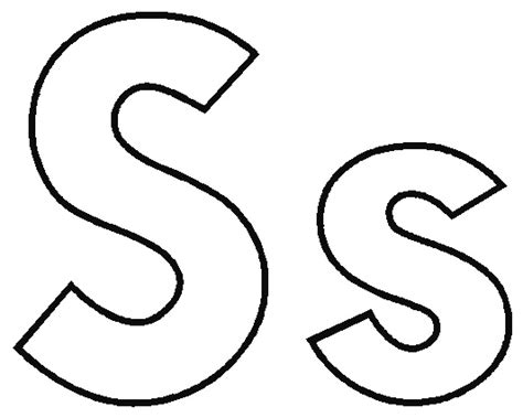 Letter S Coloring Pages To Download And Print For Free S Colouring Pages
