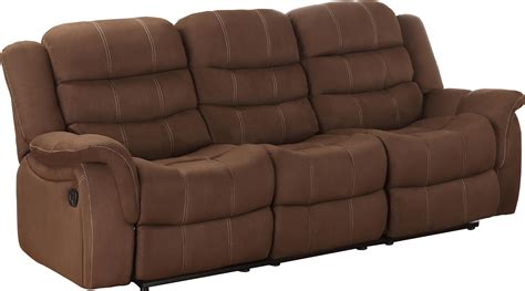 recliner sofa cover homelegance huxley reclining sofa by oj commerce