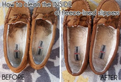 how to clean slippers cleaning the inside of fleece lined shoes or slippers