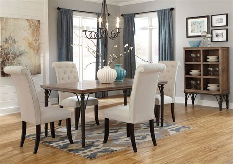Dining Room Direct by Ramos Furniture Tripton Rectangular Dining Table W 4 Side