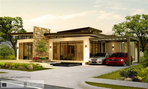 modern bungalow floor plans modern bungalow house designs philippines