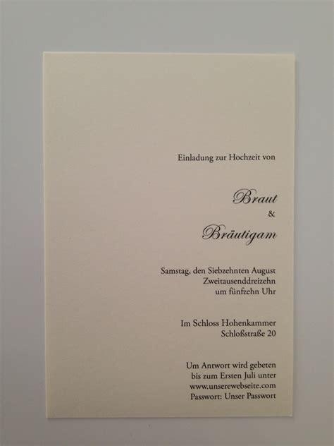 Text Hochzeitseinladung by Hochzeit Technik