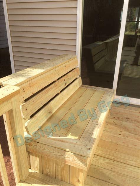 standard height for a bench standard height and width for bench on a deck decks fencing contractor talk